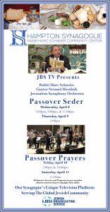 JBS TV Passover Broadcasts