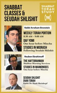 Read more about the article Shabbat Torah Study
